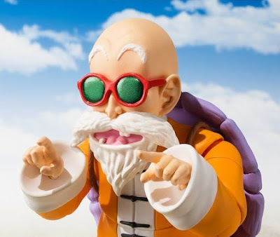"S.H.Figuarts Mutenrōshi de ""Dragon Ball"" - Tamashii Nations"