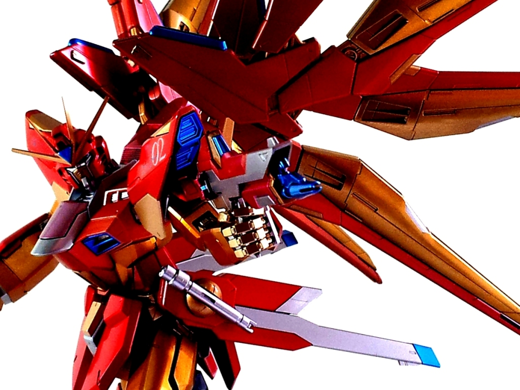 Gundam Guy Mg 1 100 Zgmf X20a Strike Freedom Gundam Red Army Painted Build