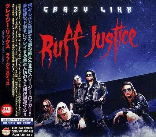 CRAZY LIXX - Ruff Justice [Japanese Edition] (2017) full