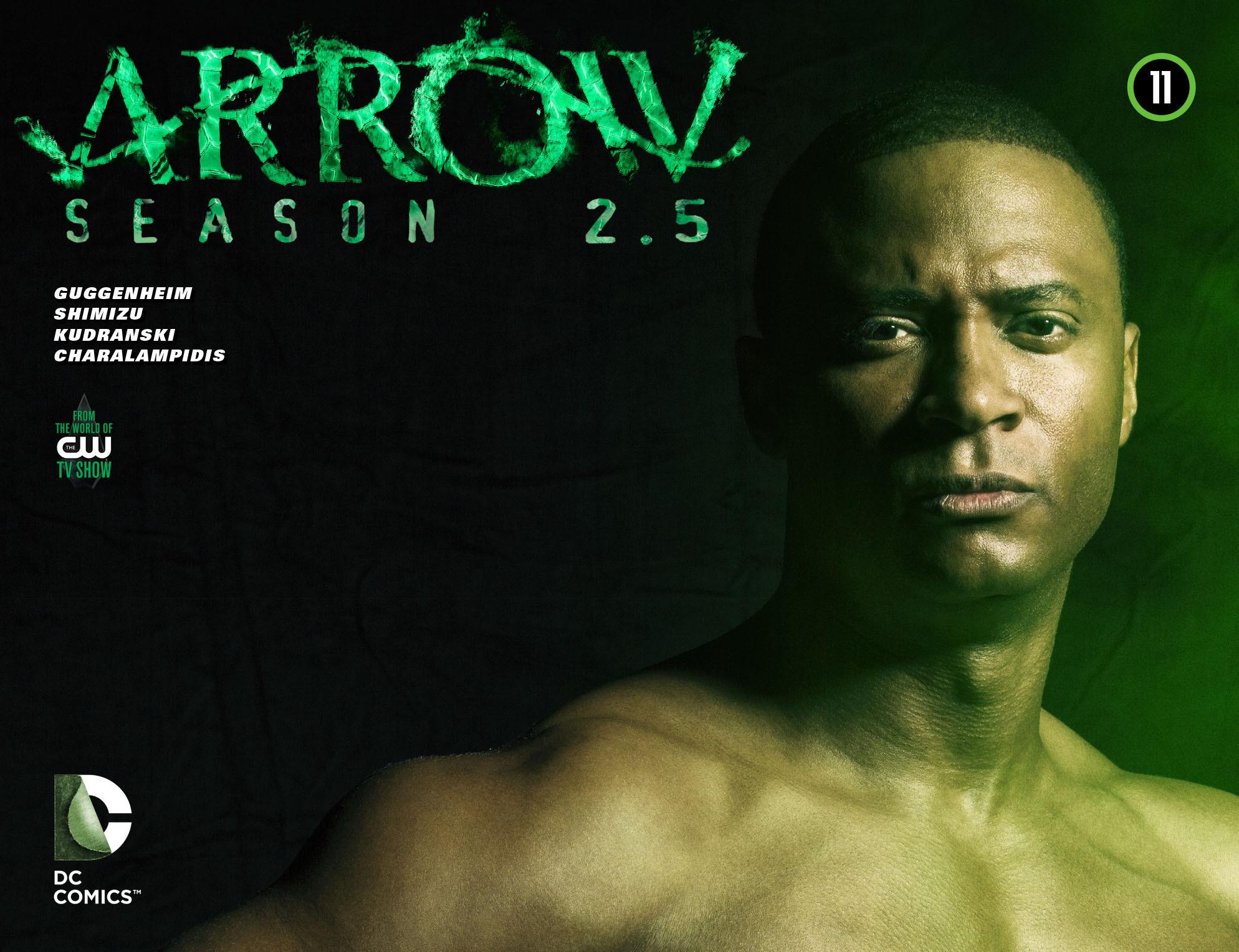 Read online Arrow: Season 2.5 [I] comic -  Issue #11 - 1
