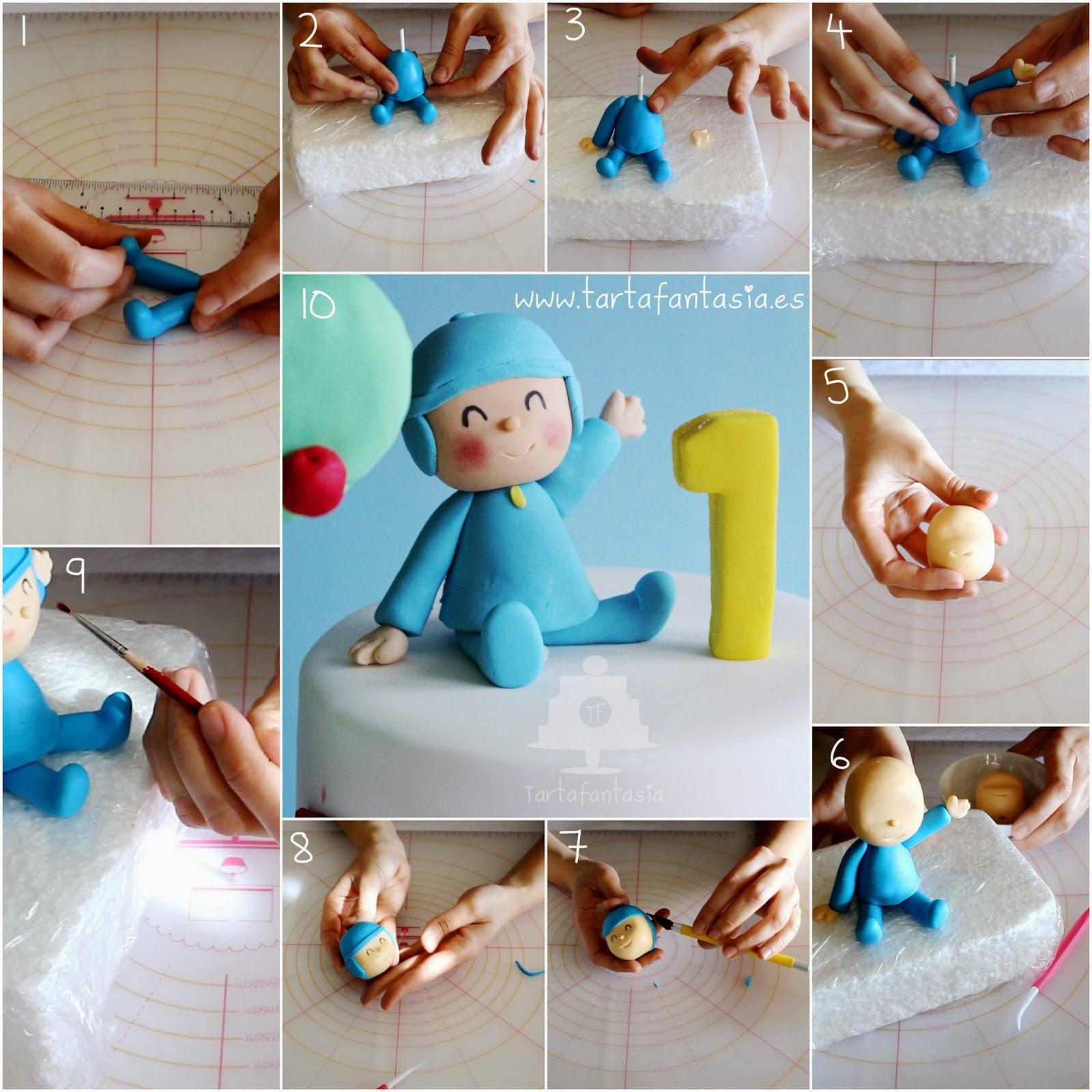 Como Hacer El Fondant Para Hacer Figuras Para Cake