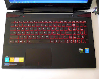 Laptop Gaming Lenovo Y50-70 Core i7 Fullset