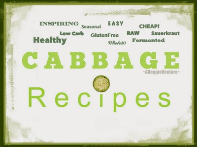 Tired of the same-old coleslaw? Find new inspiration in this collection of seasonal Cabbage Recipes (including Sauerkraut Recipes) from A Veggie Venture, savory to sweet, salads to sides, soups to supper, sandwiches to smoothies, simple to special. Many Weight Watchers, vegan, gluten-free, low-carb, paleo, whole30 recipes.
