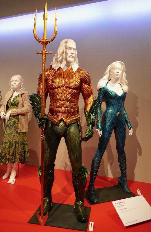 Aquaman Mera movie costumes
