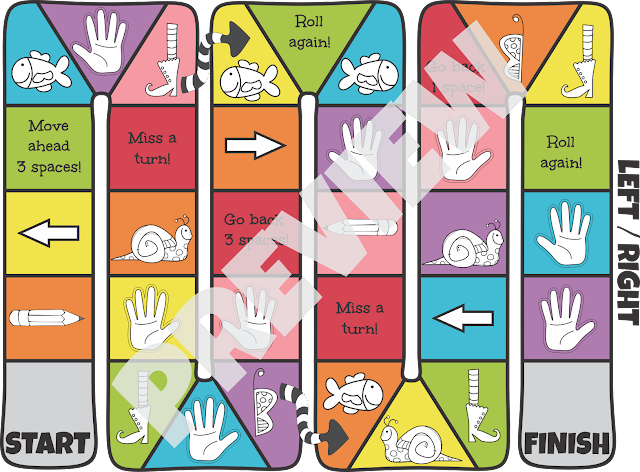 Left-Right-Board-Game