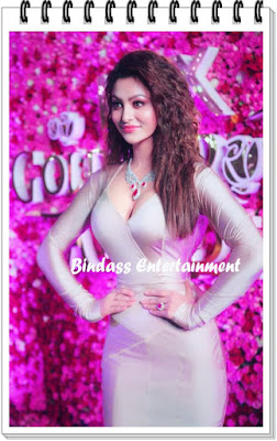 uravashi-rautela-in-lux-golden-rose-awards-7