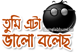 Tumi Eta Valo Bolecho Bengali Funny Comment Sticker