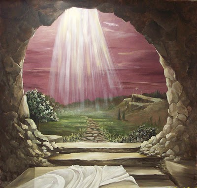 Wallpapers of Jesus Christ in Empty Tomb
