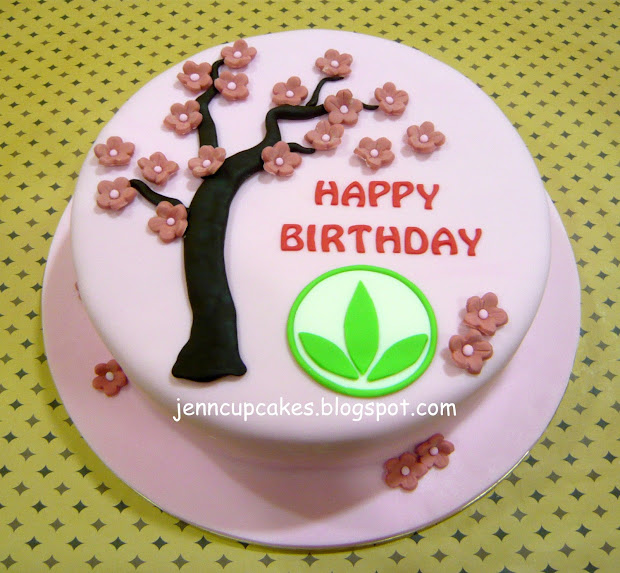 Herbalife Happy Birthday Cake