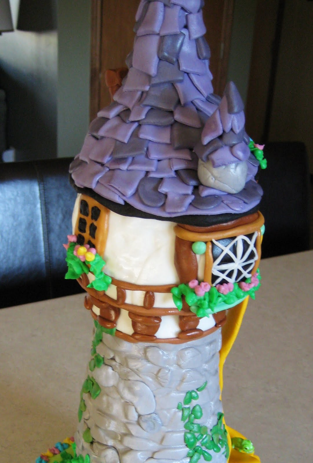 Custom Cakes By Julie Rapunzel Tangled Cake