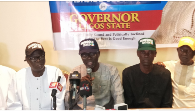 Image result for Ambode's challenger, Sanwo-Olu, promises Lagosians better lease on life