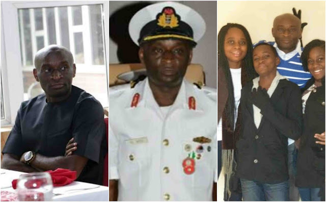 Image result for The Fleet Commander, Western Naval Command, Apapa, Lagos State, Rear Admiral Daniel Ikoli