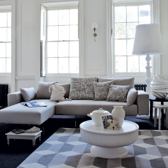 New Home Interior Design: Modern Living Room - Collection 5
