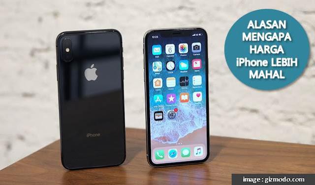 Alasan Mengapa Harga iPhone Lebih Mahal - Blog Mas Hendra