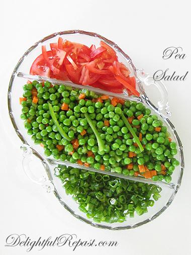 Pea Salad / www.delightfulrepast.com
