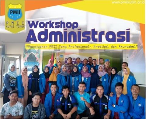 Workshop Administrasi, Cara PMII Kutim Wujudkan Organisasi Profesional, Kredibel  dan Akuntabel