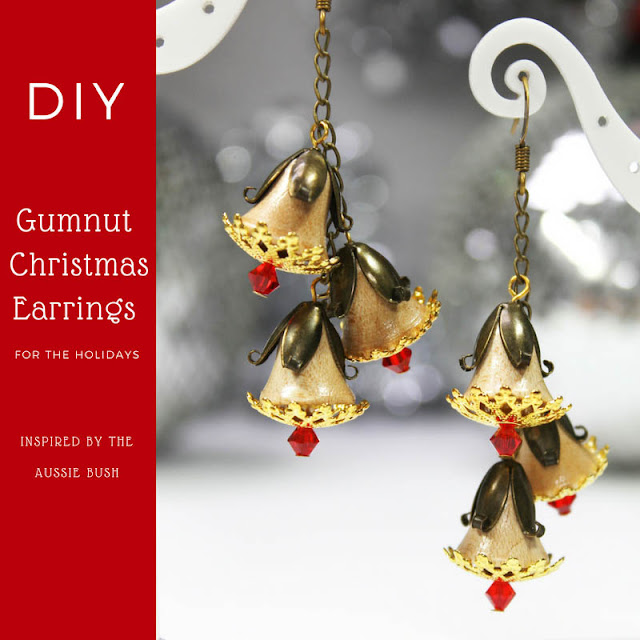 Gumnut earrings inspiration sheet