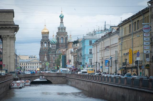 Biserica Mantuitorului; Sankt Petersburg, Rusia