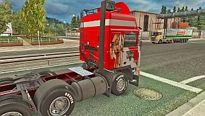 GTA 5 Volvo F10 skin