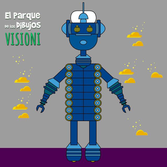 El robot Visioni de Planeta Pomelo