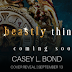 Cover Reveal - Brutal Curse by Casey L. Bond