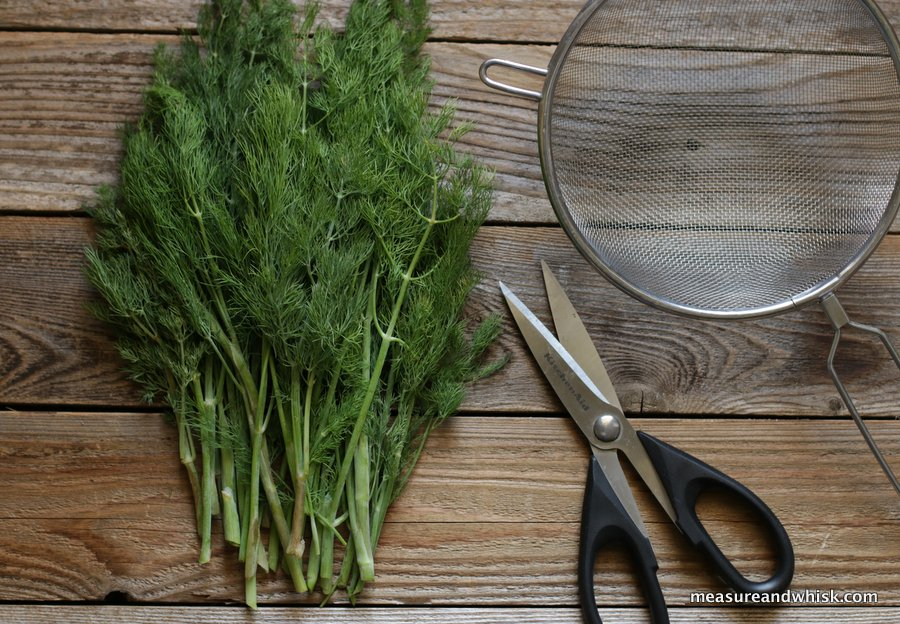 Head Of Dill How To Dry Fresh Dill (without A Dehydrator) | Measure