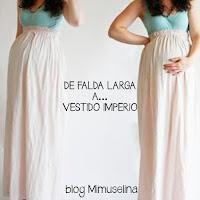 truco ropa premamá embarazada blog mimuselina reutilizar