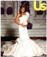 See Monica's Million Dollar Wedding Dress!