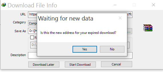 ngelanjut IDM error