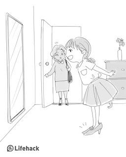 ilustrasi pengorbanan seorang ibu
