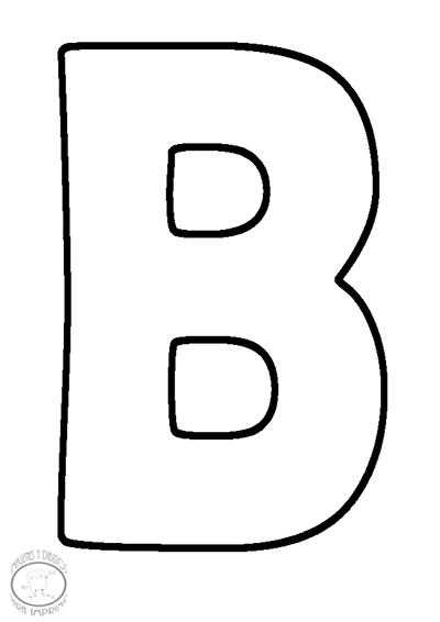 Letras Para Imprimir Tamano Carta