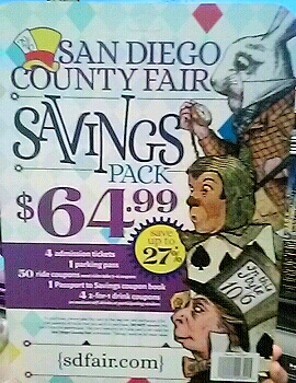 Costco San Diego Fair Tickets