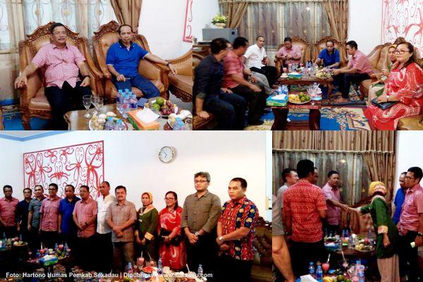 4 Tahun Menjalin Hubungan, FK Unhas Makasar Silaturahmi Dengan Bupati dan Wakil Bupati