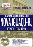 Apostila Concurso Câmara Municipal de Nova Iguaçu-RJ 2016 para agente legislativo.
