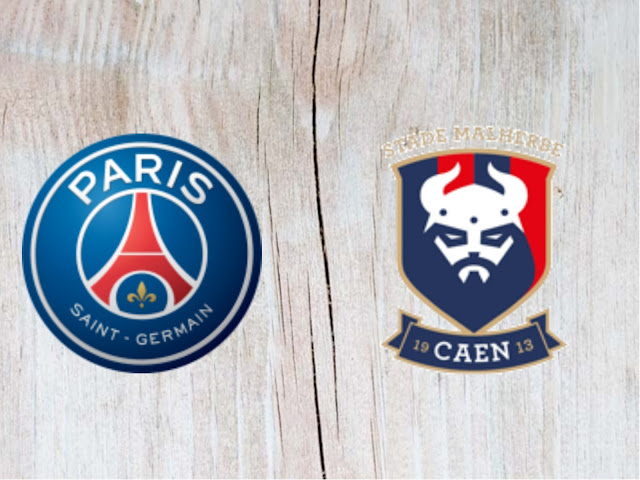 Paris Saint Germain vs Caen Full Match And Highlights 12 May 2018