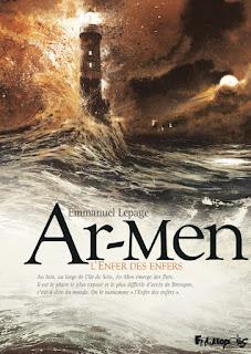 avis Ar-Men L'Enfer des enfers BD d'Emmanuel Lepage phare île de Sein