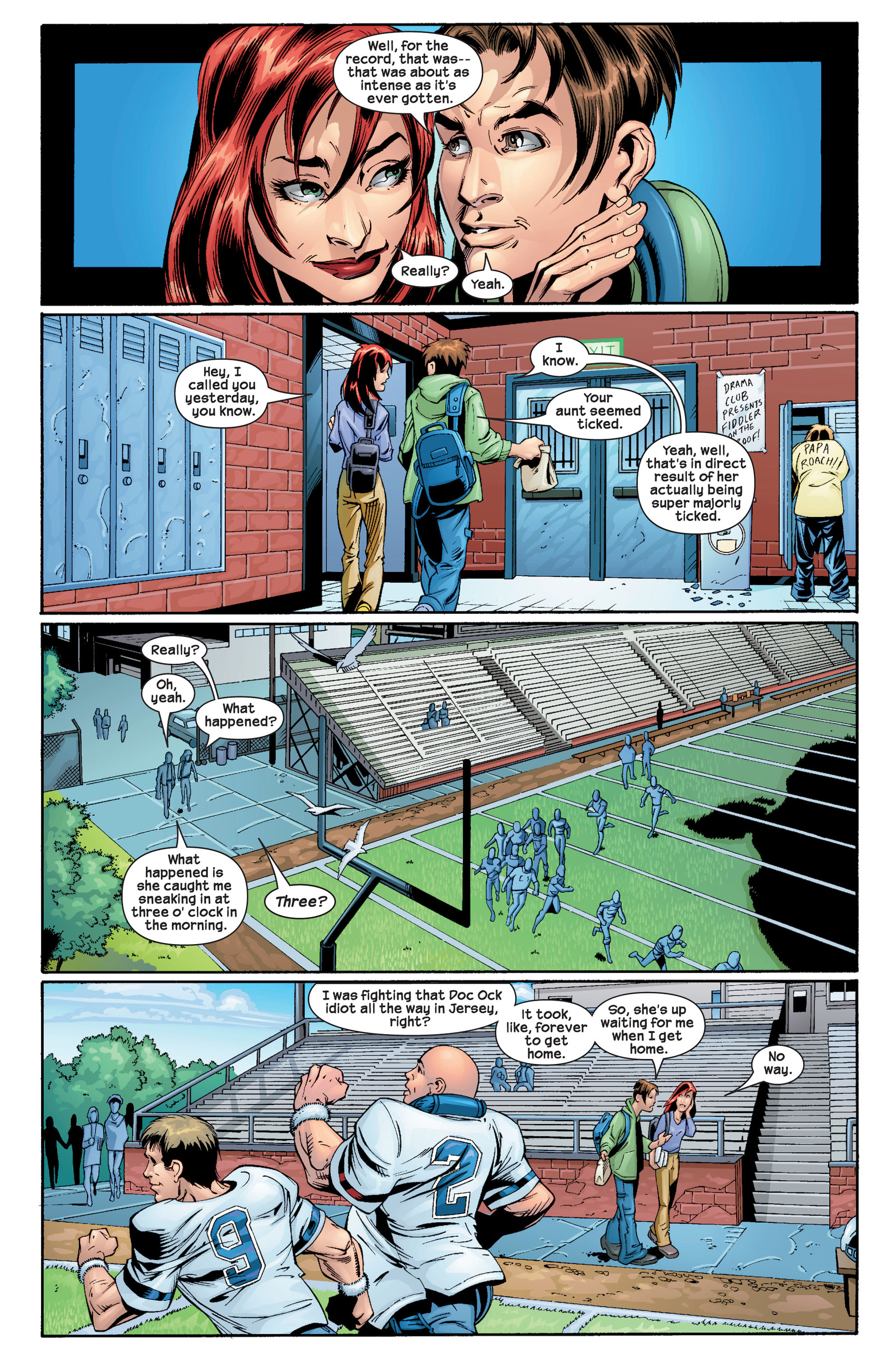 Read online Ultimate Spider-Man (2000) comic -  Issue #22 - 13