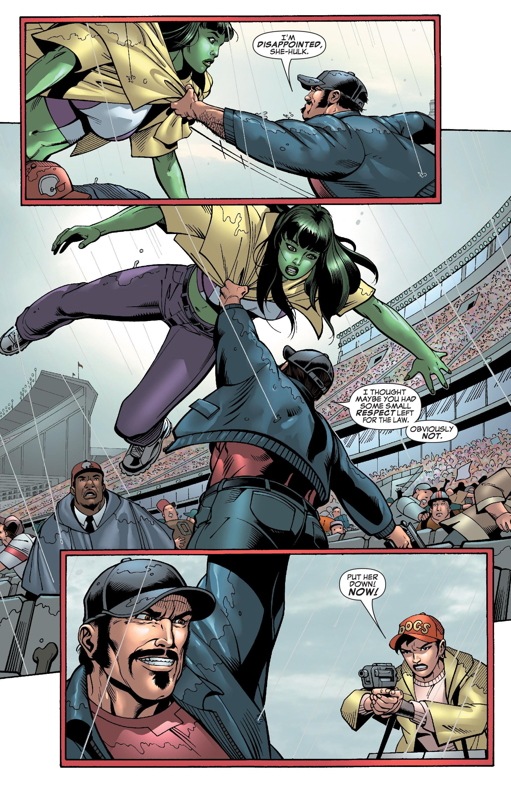 Read online She-Hulk (2005) comic -  Issue #28 - 14