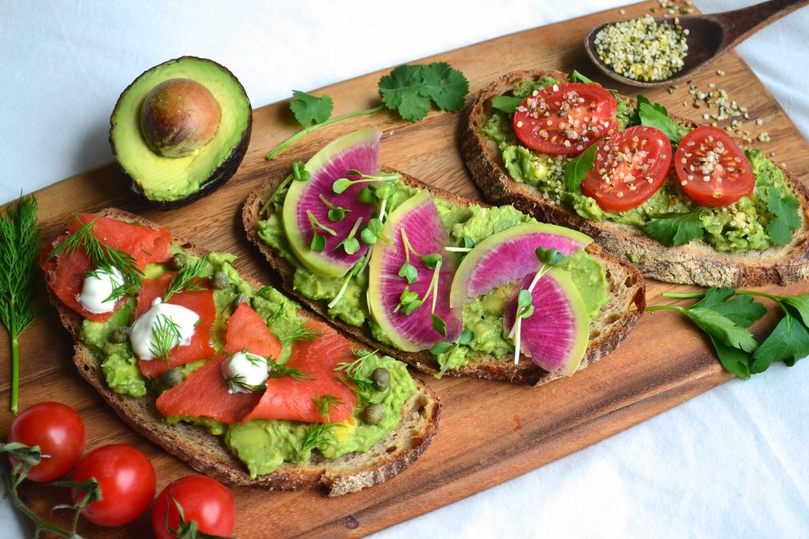 Nourish The Roots: Avocado Toast: 3 Ways!