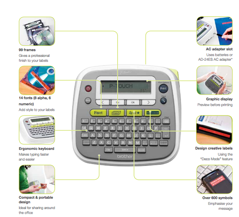 Brother P Touch PT-D200 Label Maker Giveaway!