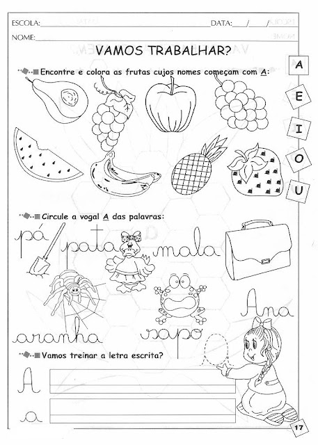 Apostila - 291 Atividades de Alfabetização Silábica