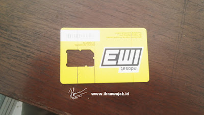 Membuat pola holder Smartphone dari Kartu Pedana Bekas