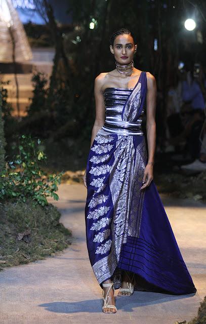 Tarun Tahiliani Amazon India Fashion Week 2017