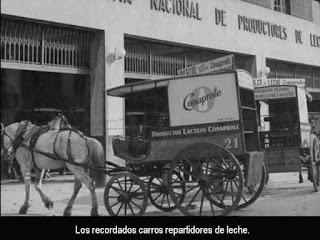 Repartidor de leche año 1960
