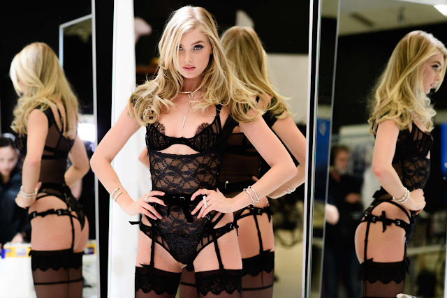 Elsa Hosk – Victoria's Secret Costume Fitting in New York