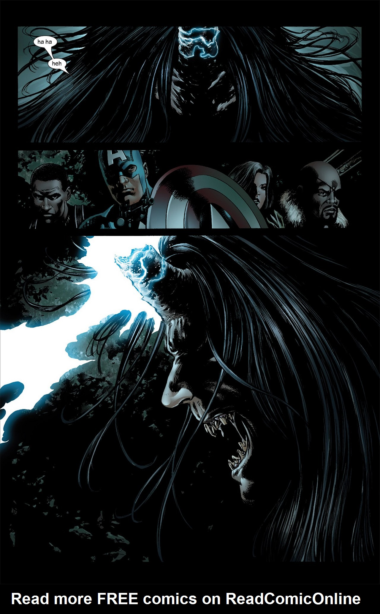 Read online Ultimate Nightmare comic -  Issue #3 - 10