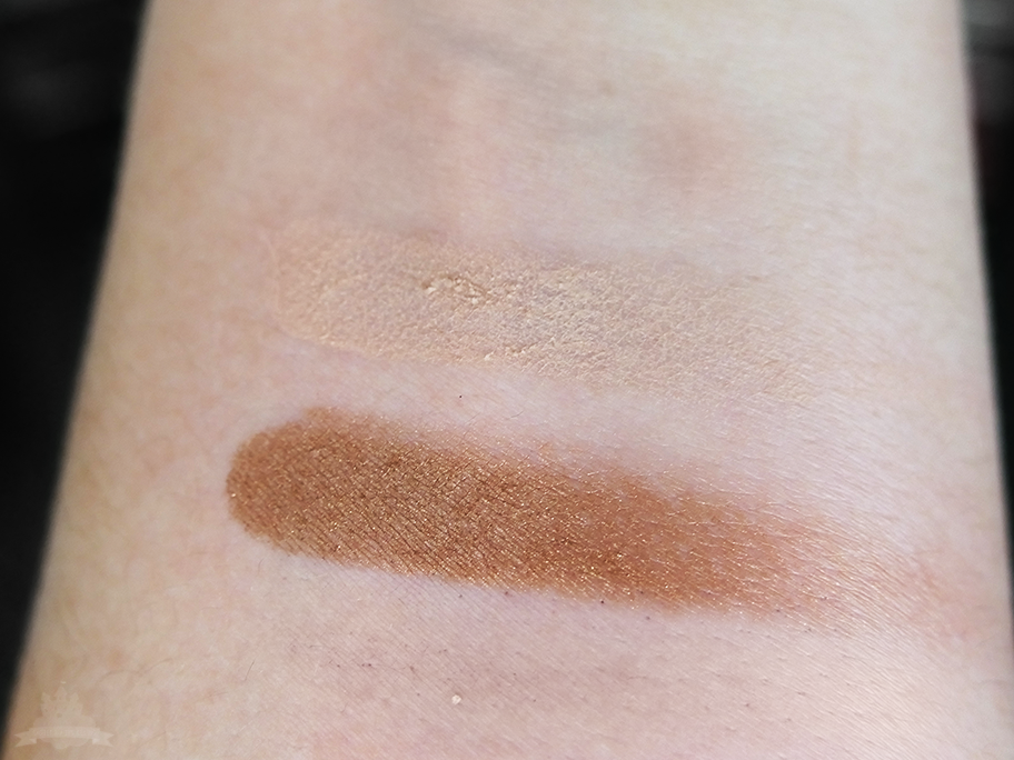 "Reviderm Mineral Duo Eyeshadow ""Earth Angel"" Swatches"