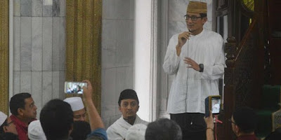 Resmi, Umat Islam Jakarta Duetkan Sandiaga Uno-Yusuf Mansur
