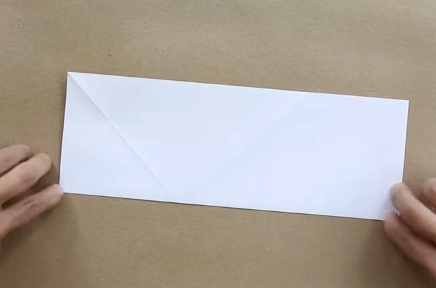 Cách gấp máy bay giấy Jas 39 theo phong cách Origami 9