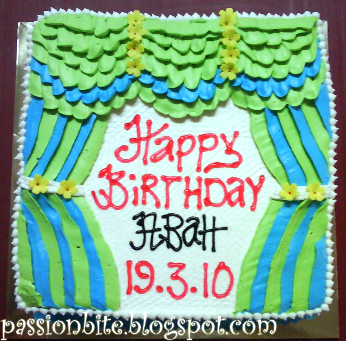 Passionbite: Happy Birthday Abah